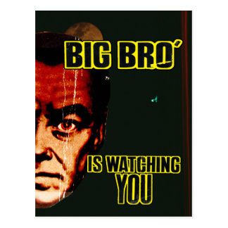 Big Brother Post Card