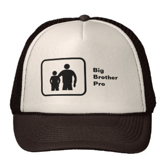 Big Brother Pro with younger brother Hats