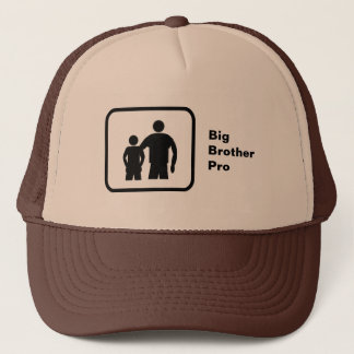 Big Brother Pro (with younger brother) Trucker Hat