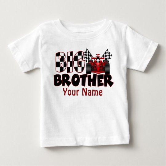 Big Brother Race Car Personalised T Shirt