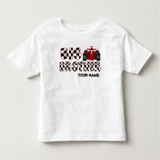 Big Brother Race Car Personalized Shirt