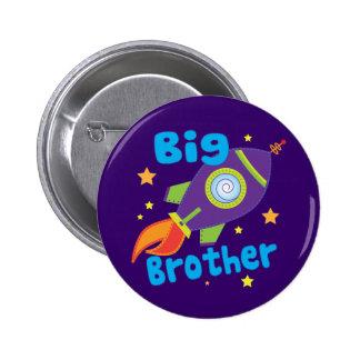 Big Brother Rocket Ship Sibling Sets 6 Cm Round Badge