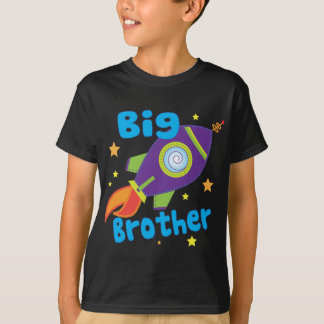 Big Brother Rocket Ship Sibling Sets T-Shirt