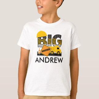 Big Brother Shirt | Construction | Sibling Shirt