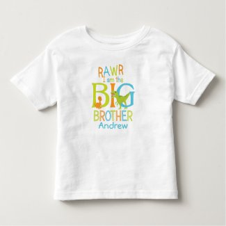 Big Brother Shirt | Dinosaur Shirt