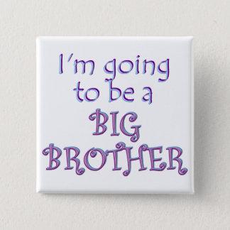 Big Brother/Sister 15 Cm Square Badge