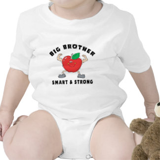 Big Brother Smart & Strong T-Shirt Rompers