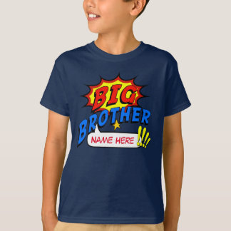Big Brother Superhero Custom T-Shirt
