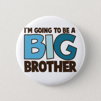 big brother t-shirt 6 cm round badge