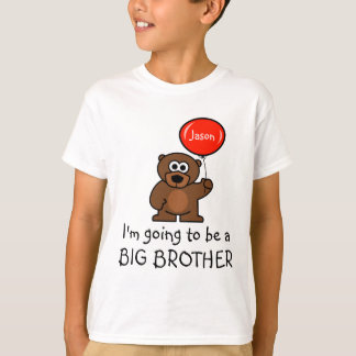 Big brother t shirt for sibling | Toy teddy bear