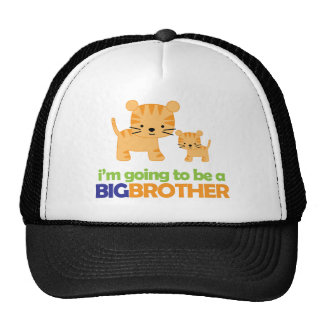 Big Brother Tiger T-shirt Pregnancy Announcement Cap