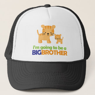 Big Brother Tiger T-shirt Pregnancy Announcement Trucker Hat
