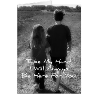 Big Brother To Little Sister Greeting Card