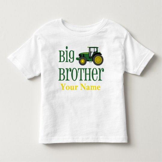 Big Brother Tractor Personalised T-shirt