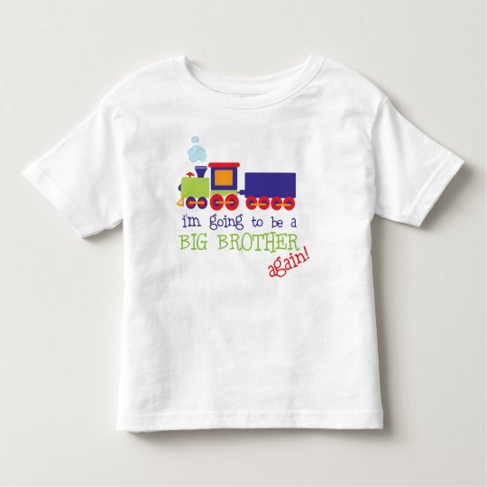 big brother train again toddler T-Shirt