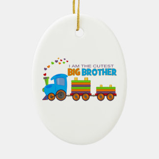 Big Brother -Train Christmas Ornament