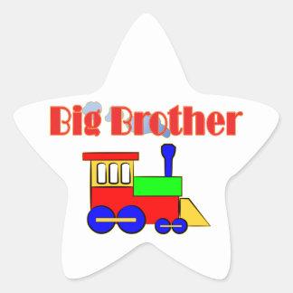 Big Brother Train Engine Star Sticker