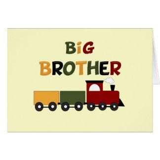 Big Brother Train Greeting Card