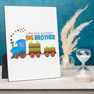 Big Brother -Train Photo Plaque
