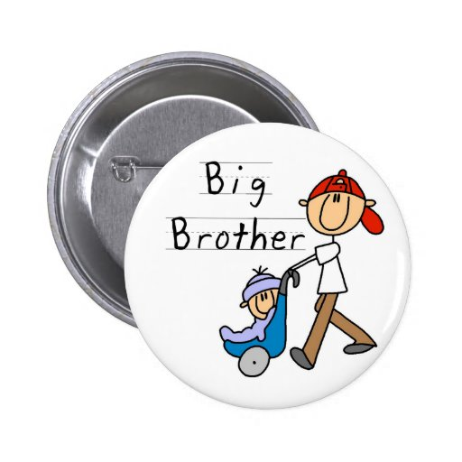 Big Brother With Little Brother Pin