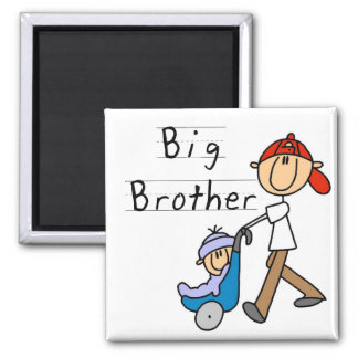 Big Brother with Little Brother Tshirts and Gifts Magnet
