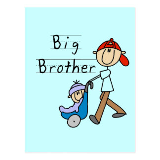 Big Brother with Little Brother Tshirts and Gifts Postcard