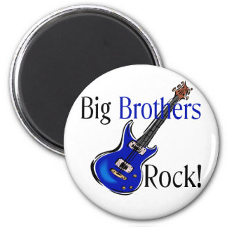 Big Brothers ROCK! 6 Cm Round Magnet