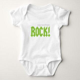 Big Brothers Rock! Baby Bodysuit