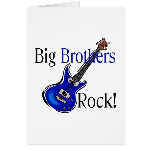 Big Brothers ROCK! Cards