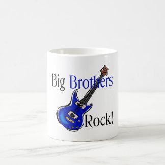 Big Brothers ROCK! Classic White Coffee Mug