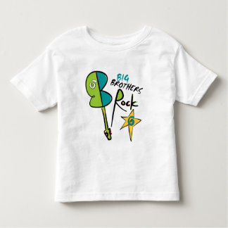 Big Brothers Rock! Toddler T-Shirt