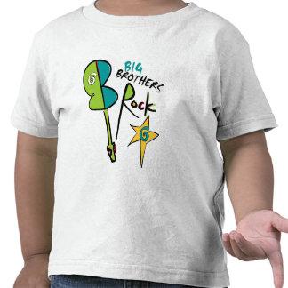 Big Brothers Rock! T Shirts