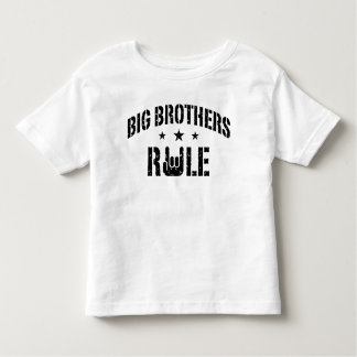 Big Brothers Rule Toddler T-Shirt