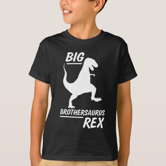 Big Brothersaurus Rex Big Brother Boys Dino Shirt