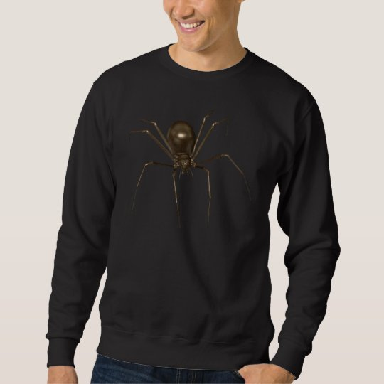 Big Brown 3D Halftone Spider Sweatshirt
