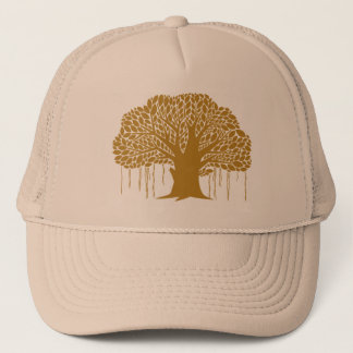 Big Brown Banyan Tree Trucker Hat