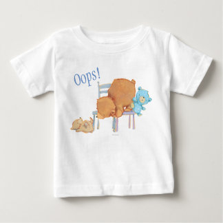 Big Brown Bear, Calico, & Floppy Share Two Chairs Baby T-Shirt