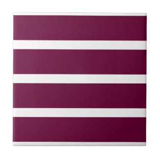 Big Brown Stripe Tile