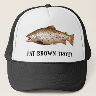 Big Brown Trout Trucker Hat