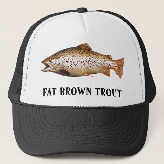 Big Brown Trout Trucker Hat