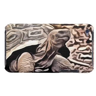 big brown turtle painting barely there iPod cases