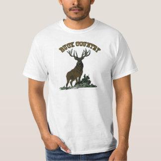 Big Buck Country - deer hunting t shirt