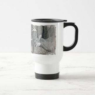 Big Buck rub Stainless Steel Travel Mug
