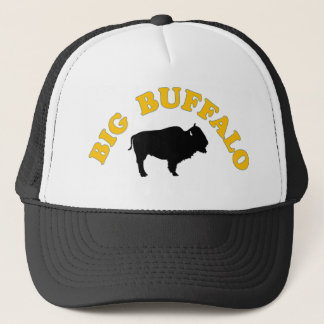 Big buffalo trucker hat