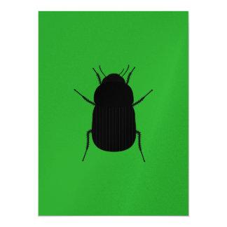 Big Bug 14 Cm X 19 Cm Invitation Card