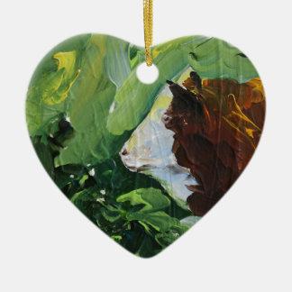 Big Bull gifts Ceramic Heart Decoration