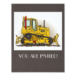 Big Bulldozer Dozer Card