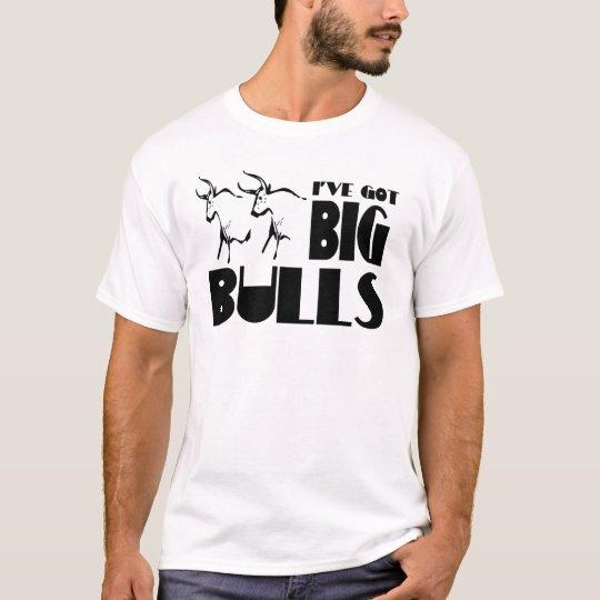 Big Bulls - Funny Farmer T-Shirt