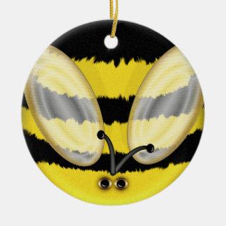 Big Bumble Bee Christmas Ornament