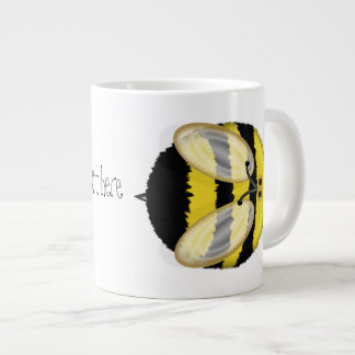 Big Bumble Bee Personalized Jumbo Mug